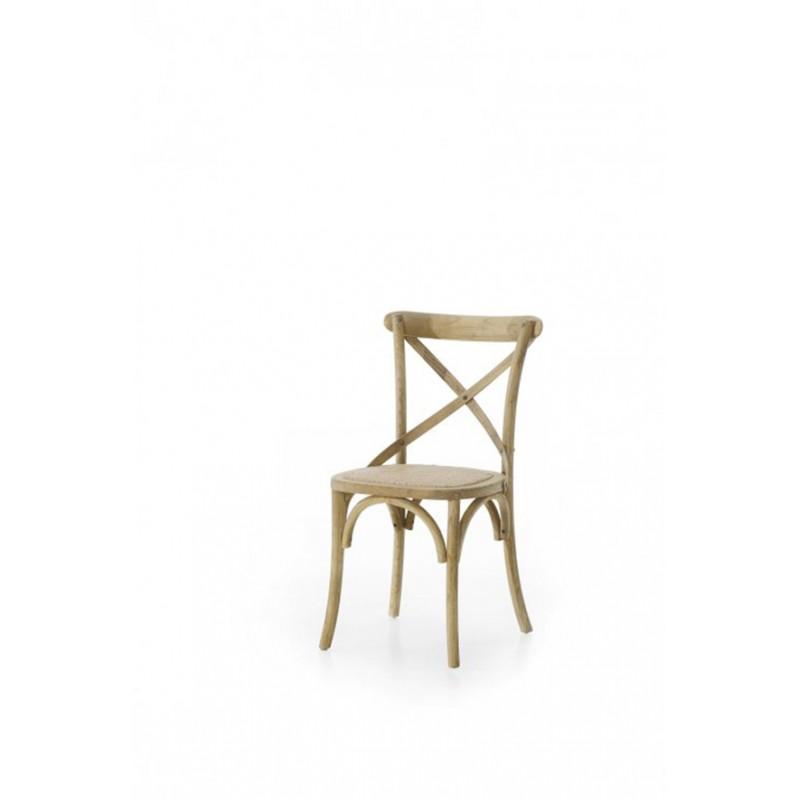 Sedia in olmo laccata bianca o lucido naturale italian for Sedia decor